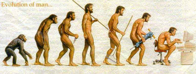 evolutionofman